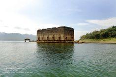 Underwater Temple, Sangkhlaburi, Kanchanaburi by Nobythai, via Flickr    hope to go here on my trip to asia next year!