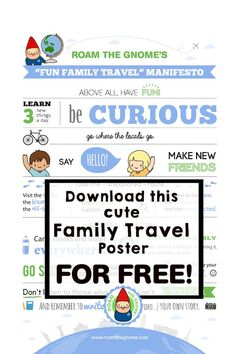 THE BEST FAMILY TRAVEL MISSION STATEMENT & FREE PRINTABLE!Ever wanted to write a family travel manifesto for kids of your own family team's overall guiding travel ideals, kind actions & practices? You can. Read our personal Travel Mission Statement & download a free copy to display on your wall as inspiration & reminders. Then use our template to make your own! Take a look. Travel With Kids, Family Travel, Polar Express Train Ride, Top Places To Travel, Hotels For Kids, Bucket List Family, Disney Tips, Cruise Travel, Travel Goals