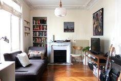 Paris living room, Apartment Therapy