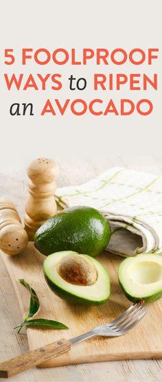5 easy ways to ripen an avocado