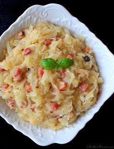 Polish Recipes, Polish Food, Side Recipes, Traditional Kitchen, Food Design, Sauerkraut, Risotto, Salad Recipes, Mashed Potatoes