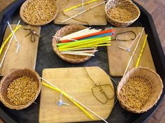 Are you looking for some Tuff Tray inspiration? Here is a great collection of Sensory Tuff Trays perfect for children!