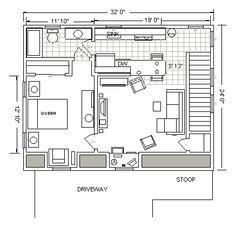 Downsizing on pinterest tiny homes pallet entertainment for 16x24 garage kit