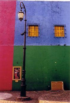 La boca Buenos Aires_ Beautiful Bold Color
