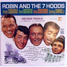 Robin and the 7 Hoods Soundtrack OST Vinyl Record LP 1964 Reprise Mono Jazz Frank Sinatra Dean Martin by vintagebaronrecords on Etsy
