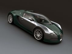 Visit The MACHINE Shop Café... ❤ Best of Bugatti @ MACHINE ❤ (The 2011 Bugatti ƎB Veyron 16.4 Grand Sport Middle Vitesse Green)