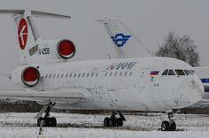 Як-42 авиакомпании Карат в Ульяновском авиамузее