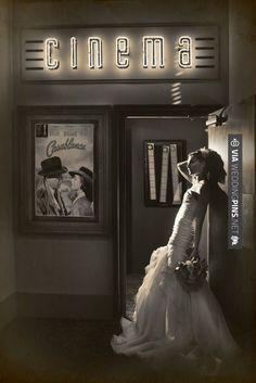 Casablanca - inspired wedding