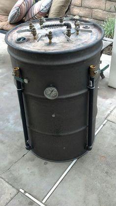 Vertical Drum Smoker – Shane Greedy's Brand Spanking New Smoker : Best Smoker BBQ 55 Gallon Drum Smoker, Ugly Drum Smoker, Bbq Grill, Grilling, Uds Smoker, Barrel Smoker, Custom Bbq Pits, Fire Pit Cooking, Homemade Smoker