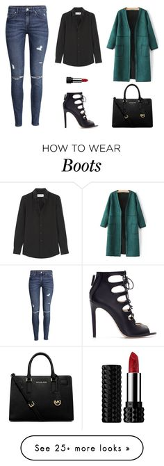 """Untitled #711"" by patrisha175 on Polyvore featuring moda, Zara, Yves Saint Laurent, H&M, MICHAEL Michael Kors i Kat Von D"