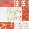 A Merry Little Christmas Fat Quarter Bundle in Red from Hawthorne