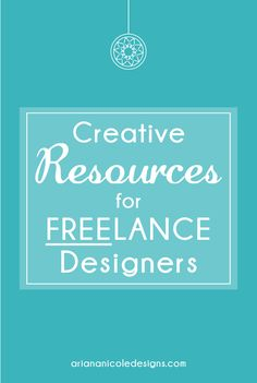 Creative resources to help designers learn, practice and create graphic design. These resources are free and useful for all types of designers.