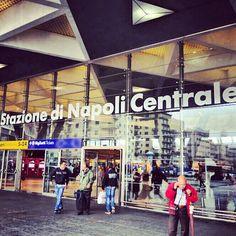 Train station in Naples - Stazione Napoli Centrale in Napoli, Campania