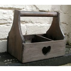 I've just found Reclaimed Wood Garden Heart Trug. Another favourite from our rustic Reclaimed Wood collection, our Heart Trug.. £15.00