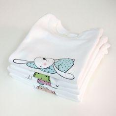 camisetas de algodón 100%, estampadas con tintas al agua   www.lauraduran.com