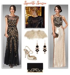 Embellished Gowns and Evening Dresses
