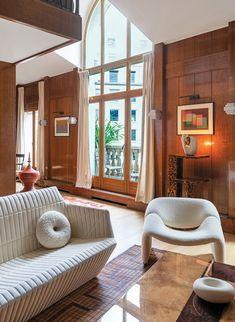 Hauvette and Madani Updates a 1980s Paris Apartment With Eclectic Accents - Interior Design