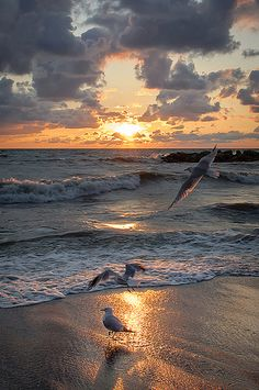Presque Isle Sunset, Lake Erie, Pennsylvania