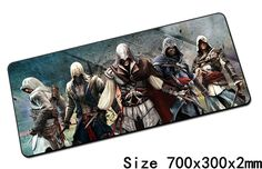 Assassin's Creed mouse pad best 700x300mm cute gaming mousepad gamer mouse mat pad keyboard computer padmouse laptop play mats