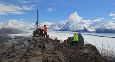 Upgrading an station in the Alaska Regional Seismic Network station at Knik Glacier. http://www.iris.washington.edu/gmap/AK/KNK - IRIS