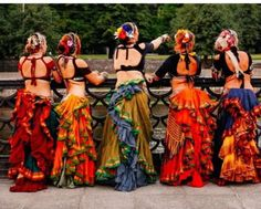 Image result for cream belly dance tribal fusion #BellyDancingCostumes