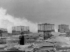 Construccion de los Superbloques de Las Lomas de Urdaneta, Catia