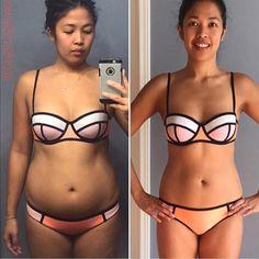 Kayla Itsines BBG Before and After Transformation | POPSUGAR Fitness