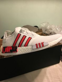 innovative design eaaf8 601c5 I won custom-painted Adidas NMD R1s from COMPLEX! These are what showed up