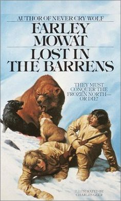 Lost in the Barrens (Bantam Starfire Book) by Farley Mowat