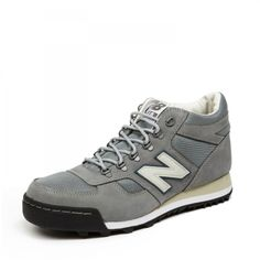 H710 by New Balance. Hiking inspired sneakers with D ring eyelets, Nubuck outer, with a mesh toe box.