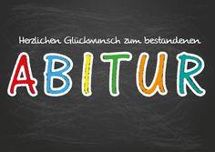 Zum bestandenen Abitur   Glückwünsche   Echte Postkarten online versenden…