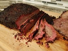 [Homemade] Slow Smoked Brisket #recipes #food #cooking #delicious #foodie #foodrecipes #cook #recipe #health