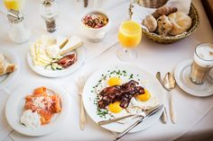 Der perfekte Start in einen wunderbaren Urlaubstag - MAHLZEIT! Le Ch, Breakfast, Food, Gourmet, Good Food, Meal, Food Food, Simple, Winter Vacations
