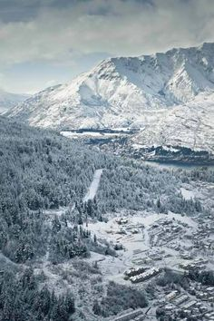Hello Winter!  Visit us at : http://amourqueenstown.co.nz