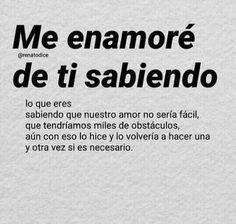 Amor Quotes, True Quotes, Poetry Quotes, Sad Love, I Love You, Ex Amor, Frases Love, Love Phrases, Love Messages