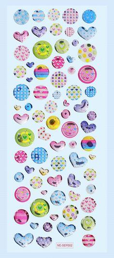 Creapop Glossy-Stickers Design-Punkte