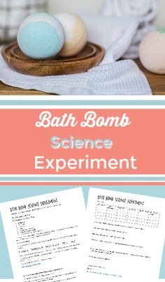 bath bomb science experimentEdit description