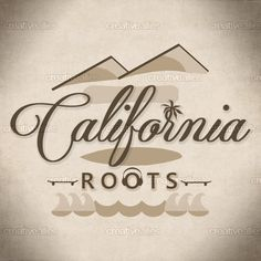 California Roots  Poster by KOSTIS ATSALIS on CreativeAllies.com