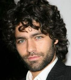 Mens Curly Hairstyles