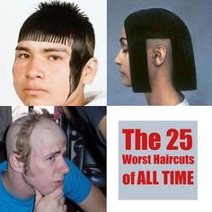 The 25 Worst Haircuts of ALL TIME