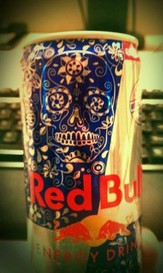 New packaging on Red Bull cans