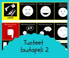 Tunnetaidot Les Sentiments, 8 Year Olds, Playing Cards, Mindfulness, Education, Feelings, Tao, School, Playing Card Games