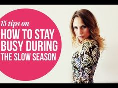 How to keep your photography business busy during the slow season @Brittany Petko