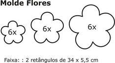 Resultado de imagem para flor de feltro