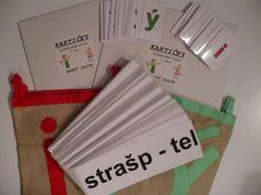Kartičky-vyjm.slova (260xA4/2+260xA7) O | Učebnice Vaníček Montessori, Language, Education, School, Teaching Ideas, Literatura, Languages, Onderwijs, Learning