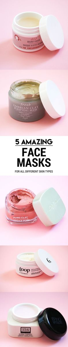 Five Face Masks For All Different Skin Types. Five Best Face Masks on the…
