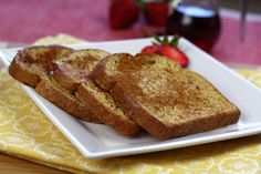 Classic Cinnalicious French Toast Recipe | Hungry Girl