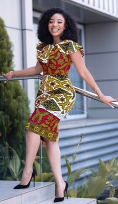 Serwaa Amihere in African fashion dress. Find out more of her styles including corporate wears kente styles dashiki classics skirts jeans with sneakers high heals work outfits sporty wears and so on African Dresses For Kids, African Fashion Ankara, Latest African Fashion Dresses, African Dresses For Women, African Print Dresses, African Attire, African Fashion Designers, African Men, African Prints