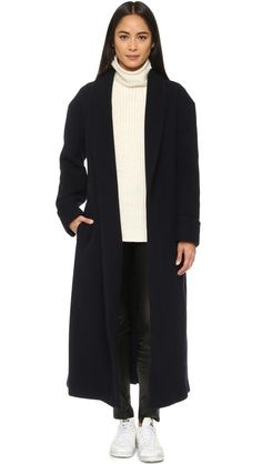 DKNY Пальто с поясом из той же ткани 895,00 $
