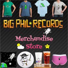 Big Phil Records | Mr Bear Big Phil Records | Big Phil Shop